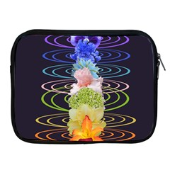 Chakra Spiritual Flower Energy Apple iPad 2/3/4 Zipper Cases