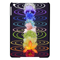 Chakra Spiritual Flower Energy iPad Air Hardshell Cases