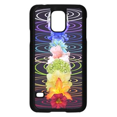 Chakra Spiritual Flower Energy Samsung Galaxy S5 Case (Black)