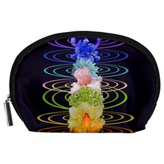 Chakra Spiritual Flower Energy Accessory Pouches (large)