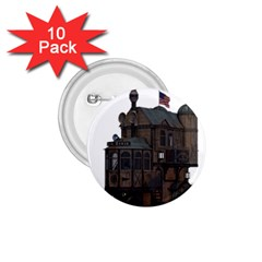 Steampunk Lock Fantasy Home 1.75  Buttons (10 pack)