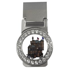 Steampunk Lock Fantasy Home Money Clips (CZ)