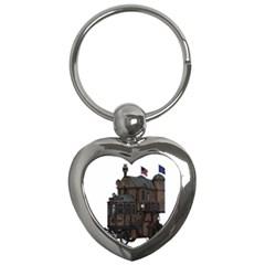 Steampunk Lock Fantasy Home Key Chains (heart)