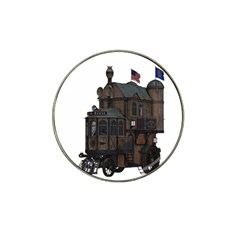 Steampunk Lock Fantasy Home Hat Clip Ball Marker (10 Pack)