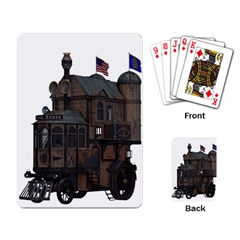 Steampunk Lock Fantasy Home Playing Card