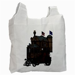 Steampunk Lock Fantasy Home Recycle Bag (Two Side)