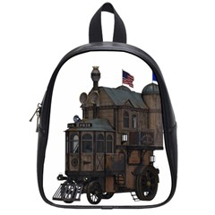 Steampunk Lock Fantasy Home School Bags (small)