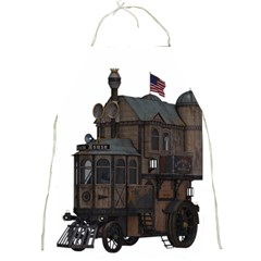 Steampunk Lock Fantasy Home Full Print Aprons