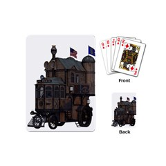 Steampunk Lock Fantasy Home Playing Cards (Mini)