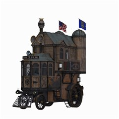 Steampunk Lock Fantasy Home Small Garden Flag (Two Sides)