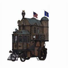 Steampunk Lock Fantasy Home Large Garden Flag (Two Sides)