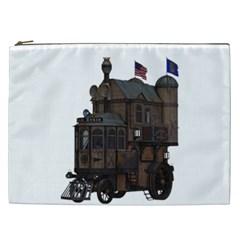 Steampunk Lock Fantasy Home Cosmetic Bag (XXL)