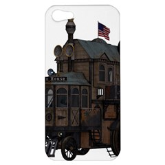 Steampunk Lock Fantasy Home Apple iPhone 5 Hardshell Case
