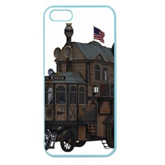 Steampunk Lock Fantasy Home Apple Seamless iPhone 5 Case (Color)