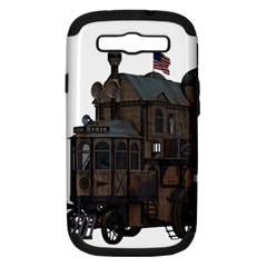 Steampunk Lock Fantasy Home Samsung Galaxy S III Hardshell Case (PC+Silicone)
