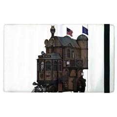 Steampunk Lock Fantasy Home Apple iPad 2 Flip Case