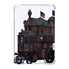 Steampunk Lock Fantasy Home Apple iPad Mini Hardshell Case (Compatible with Smart Cover)