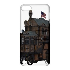 Steampunk Lock Fantasy Home Apple iPod Touch 5 Hardshell Case with Stand