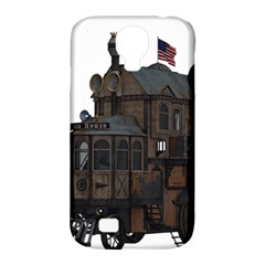 Steampunk Lock Fantasy Home Samsung Galaxy S4 Classic Hardshell Case (PC+Silicone)