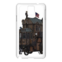 Steampunk Lock Fantasy Home Samsung Galaxy Note 3 N9005 Case (white)