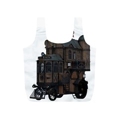 Steampunk Lock Fantasy Home Full Print Recycle Bags (S)