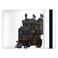 Steampunk Lock Fantasy Home Samsung Galaxy Tab Pro 12.2  Flip Case