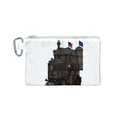 Steampunk Lock Fantasy Home Canvas Cosmetic Bag (S)