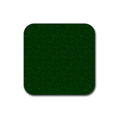Texture Green Rush Easter Rubber Coaster (Square)