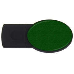 Texture Green Rush Easter USB Flash Drive Oval (4 GB)