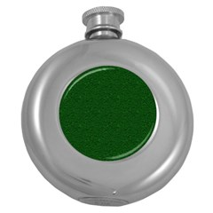Texture Green Rush Easter Round Hip Flask (5 oz)