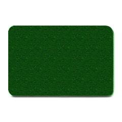 Texture Green Rush Easter Plate Mats