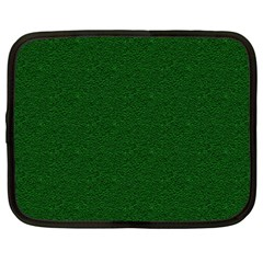 Texture Green Rush Easter Netbook Case (Large)