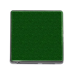 Texture Green Rush Easter Memory Card Reader (square)