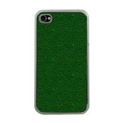 Texture Green Rush Easter Apple Iphone 4 Case (clear)