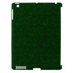 Texture Green Rush Easter Apple iPad 3/4 Hardshell Case (Compatible with Smart Cover)