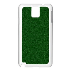 Texture Green Rush Easter Samsung Galaxy Note 3 N9005 Case (White)