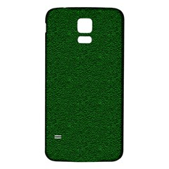 Texture Green Rush Easter Samsung Galaxy S5 Back Case (White)