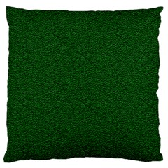 Texture Green Rush Easter Large Flano Cushion Case (Two Sides)