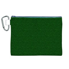 Texture Green Rush Easter Canvas Cosmetic Bag (XL)