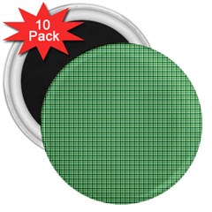 Green1 3  Magnets (10 pack)