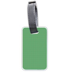 Green1 Luggage Tags (One Side)