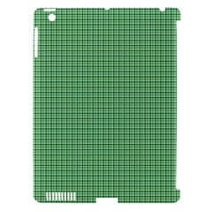 Green1 Apple iPad 3/4 Hardshell Case (Compatible with Smart Cover)