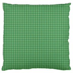 Green1 Large Cushion Case (One Side)