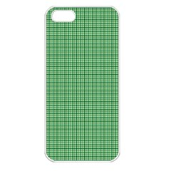Green1 Apple iPhone 5 Seamless Case (White)