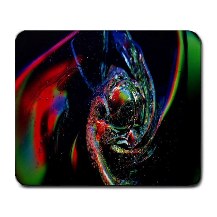 Abstraction Dive From Inside Large Mousepads