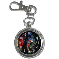 Abstraction Dive From Inside Key Chain Watches