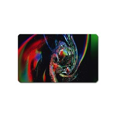 Abstraction Dive From Inside Magnet (name Card)