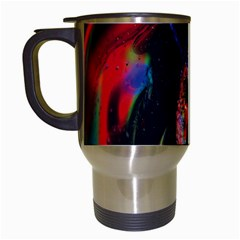 Abstraction Dive From Inside Travel Mugs (White)