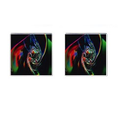 Abstraction Dive From Inside Cufflinks (Square)