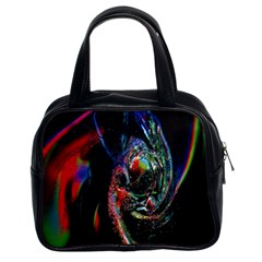 Abstraction Dive From Inside Classic Handbags (2 Sides)